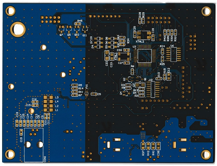 Custom PCB Design Gallery for double & multi-layer boards