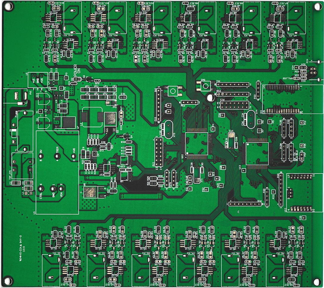 Custom PCB Design Gallery for double & multi-layer boards ...
