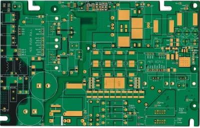 custom industrial power electronics pcb - bare printed circuit board - designed at cohen electronics consulting