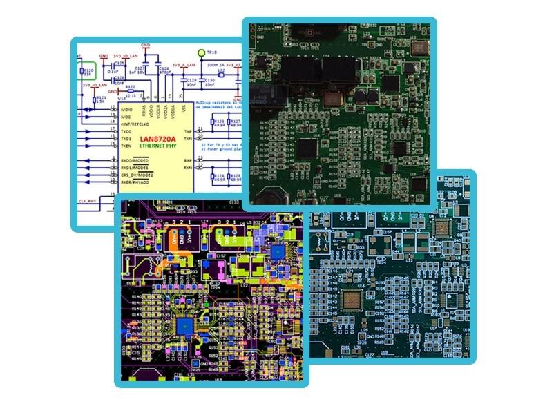 diseño del hardware electronico de tu producto electronico - servicios de diseño electrónico Tarjetas y Circuitos Impresos PCB