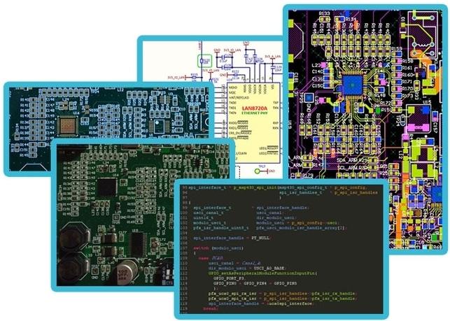 diseño completo del hardware electronico y firmware de tu producto electronico, desde el concepto a un prototipo - servicios de diseño electrónico Tarjetas y Circuitos Impresos PCB